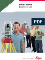 768734 FlexLine Equipment List En