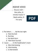 kel8 passive voice