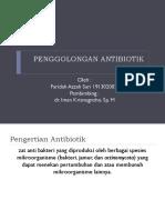 penggolongan antibiotik
