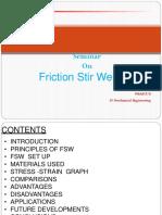 MECH Friction Stir Welding PPT.pptx