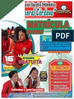 Banner Matricula 2020