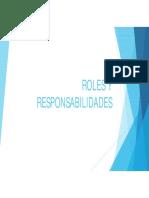 ROLES Y RESPONSABILIDADES SG SST