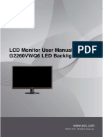 G2260 Monitor User Manual