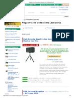 Negative Ion Generators (Ionizers) _ Ion Trading (Japan)