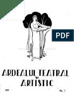 Ardealul literar si artistic1927