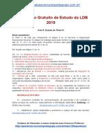 Novo Curso de Estudo da LDB 2019 - Parte 4