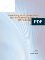Combining solar power with Coal fired power plants or cofiring natural gas ccc279.pdf