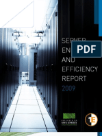 Server energy and efficiency report 2009