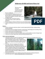 Wild Olympics Legislation General Fact Sheet 2-5-20