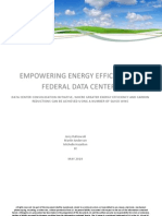 Empowering energy efficiency in federal data centers