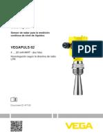 Sensor de nivel tipo radar_VEGAFLEX 62_REF_4