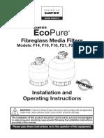 Davey Ecopure Sandfilter Manual