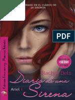 Ariel I - Diario De Una Sirena - Rachel Bels