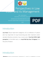 Current Perspectives in Low Vision and its Management.pptx
