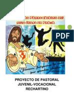 PROYECTO DE PASTORAL JUVENIL-VOCACIONAL