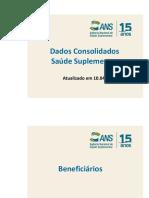 ANS - Dados Consolidados Saúde Suplementar - mar15