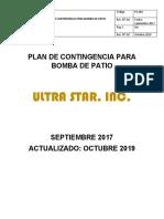 PLAN DE CONTINGENCIA PARA BOMBA DE PATIO - REVISION 2