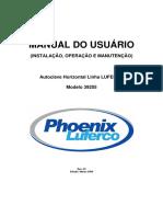 Manual do Usuário Linha LUFERCO - Modelo 39205