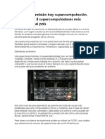 En México también hay supercomputación