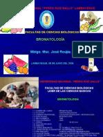 BROMATOLOGIA PRIMERA CLASE