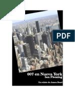 Ian Fleming - 007 en Nueva York (Relato)