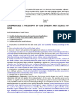 JURISPRUDENCE LLB notes for exam