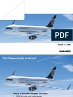 Bombardier - C Series Presentation