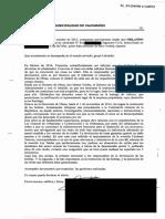 Declaración de O. Palma