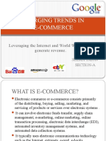 Emerging Trends in Ecom