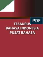 Tesaurus Bahasa Indonesia, Entri I
