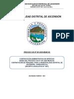 CONVOCATORIA CAS N° 001-2020/MDA/CAS MUNICIPALIDAD DISTRITAL DE ASCENSION