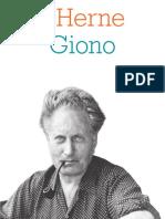 Cahier Jean Giono