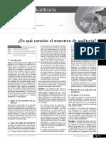 MUESTREO EN AUDITORIA-Actualidad Empresarial