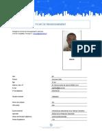 FICHE DE RENSEIGNEMENT WEBREATHE