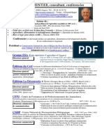 CV Parmentier 2020