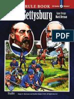 C3i 32 Gettysburg Rulebook
