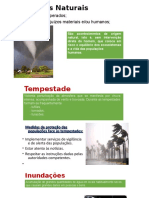 Catástrofes Naturais aasa