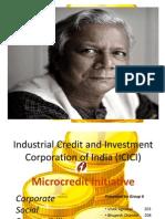 ICICI Microcredit Initiative