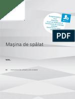 Manual Masina de Spalat Bosch 8 Kg