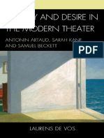 Artaud, Beckett, Kane - Cruelty and desire in the Modern Theater