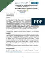 Qué debemos aprender de las pasadas investigaciones en tecnología educativa - Almenara - 2016.pdf