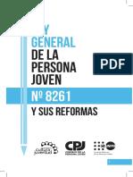Ley General de la Persona Joven y sus reformas