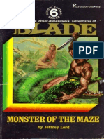 Blade 06 - Monster of the Maze - Jeffrey Lord.epub