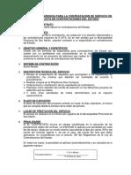 MODELO DE TDR