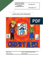 PROGRAMA ORDEN Y ASEO