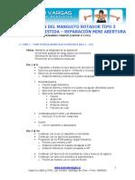 Protocolo rhb. reparacion M.R. hombro Tipo 3
