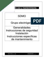 installation manual gensets