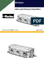 08-2012 Flow Dividers and Pressure Intensifiers