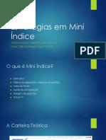 estrategias em mini indice
