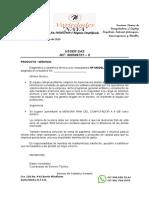 Informe tecnico + cotizacion